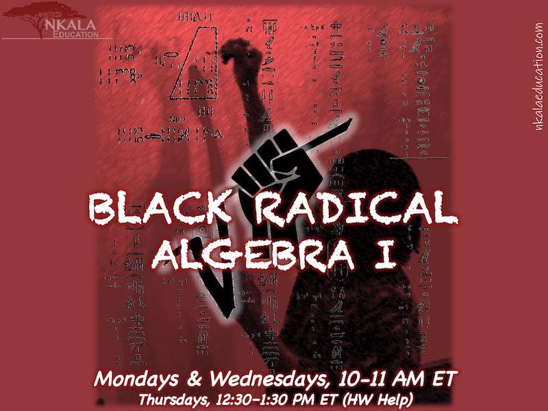 Black Radical Algebra I